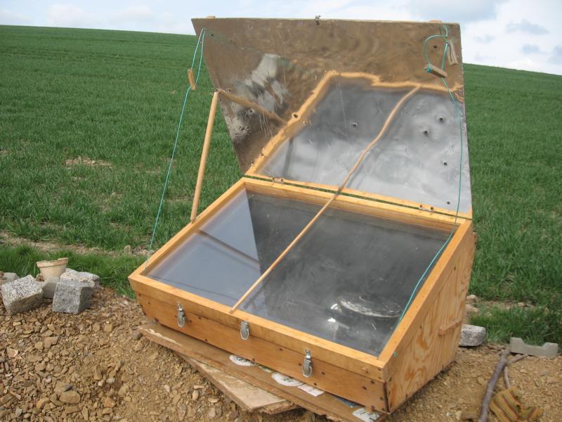 14 18 uhr kochen mit der sonne im solarofen. Black Bedroom Furniture Sets. Home Design Ideas